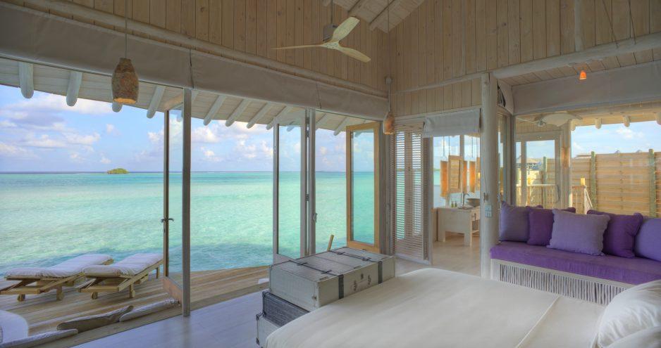 Soneva Jani Luxury Resort - Noonu Atoll, Medhufaru, Maldives - 2 Bedroom Water Retreat Villa Bedroom Ocean View