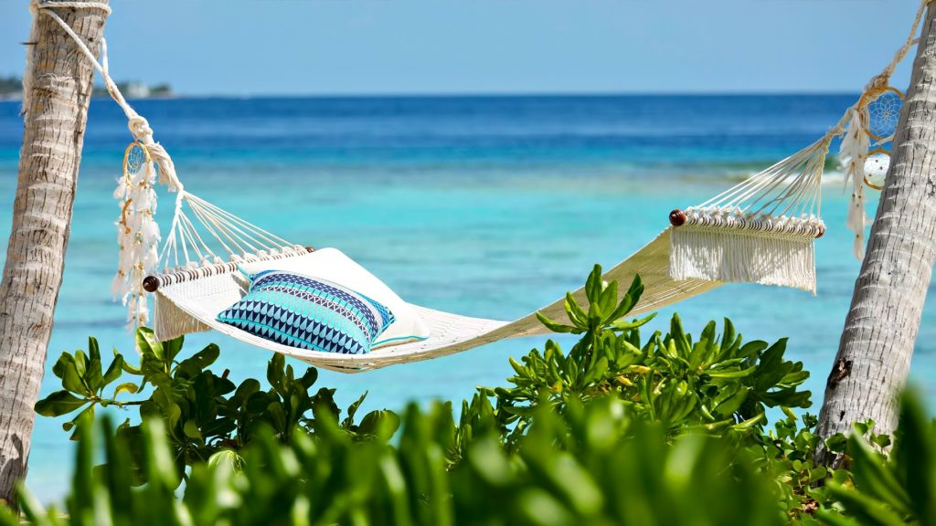 The Nautilus Maldives Luxury Resort - Thiladhoo Island, Maldives - Oceanfront Hammock