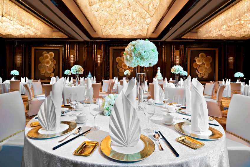 The St. Regis Shenzhen Luxury Hotel - Shenzhen, China - Wedding Reception