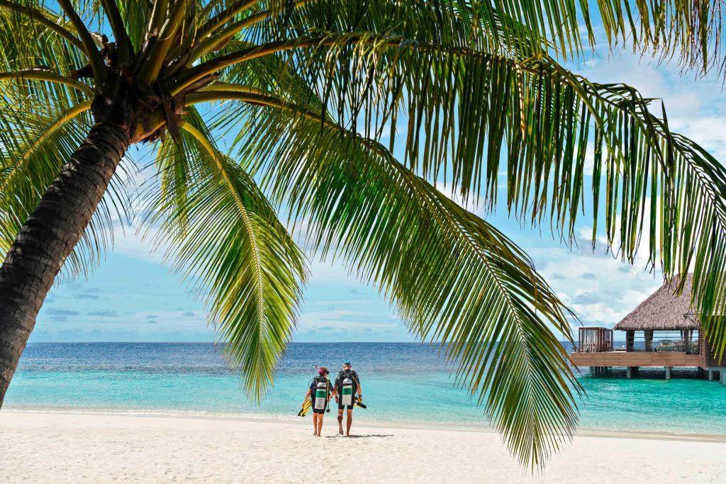 W Maldives Luxury Resort - Fesdu Island, Maldives - Tropical Ocean Scuba Diving