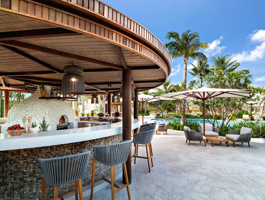 Waldorf Astoria Maldives Ithaafushi Luxury Resort - Ithaafushi Island, Maldives - Nava Bar
