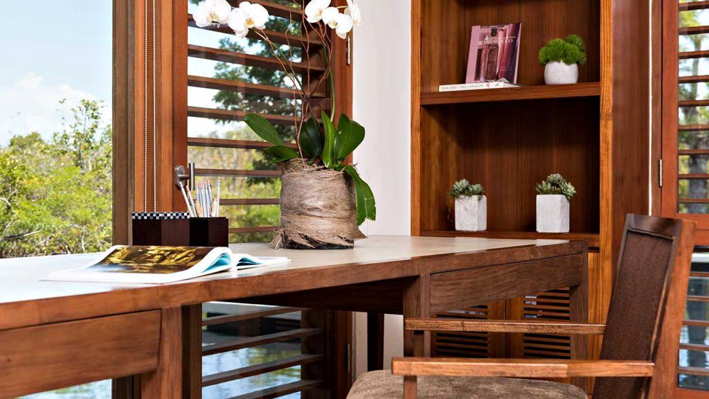 Amanyara Luxury Resort - Providenciales, Turks and Caicos Islands - 4 Bedroom Tranquility Villa Desk