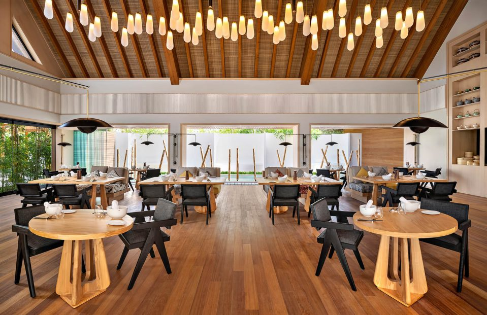 Waldorf Astoria Maldives Ithaafushi Luxury Resort - Ithaafushi Island, Maldives - Tangled Restaurant