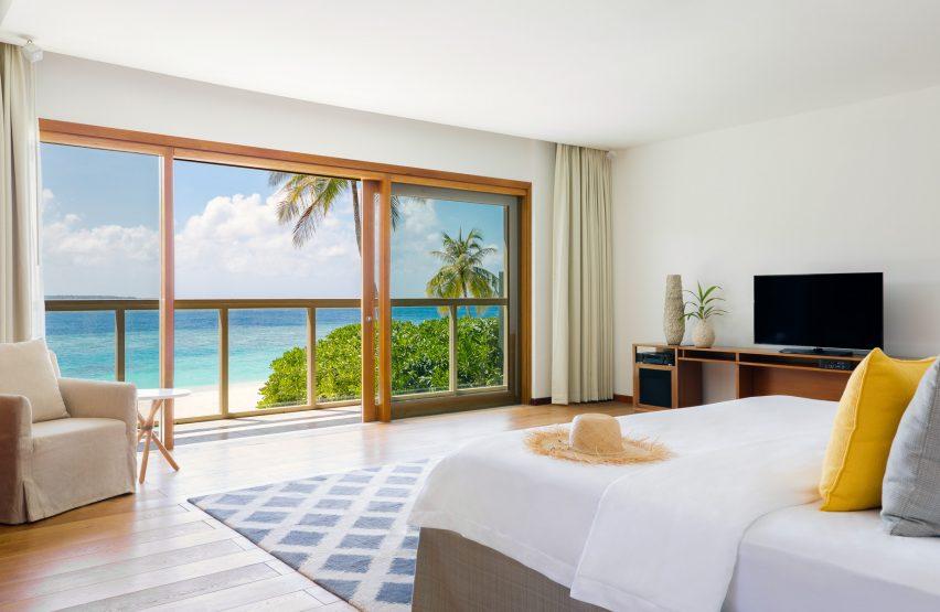 Amilla Fushi Luxury Resort and Residences - Baa Atoll, Maldives - Oceanfront Beach Villa Bedroom