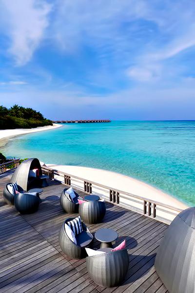 Velassaru Maldives Luxury Resort - South Male Atoll, Maldives - Chill Bar