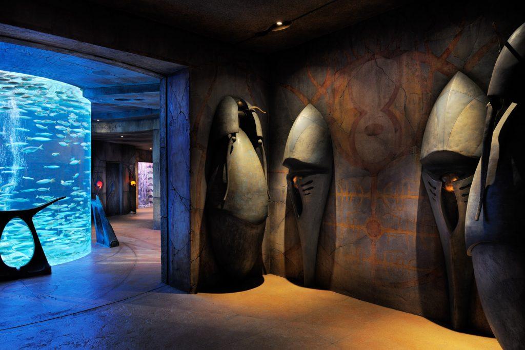 Atlantis The Palm Luxury Resort - Crescent Rd, Dubai, UAE - Lost Chamber Aquarium Entry