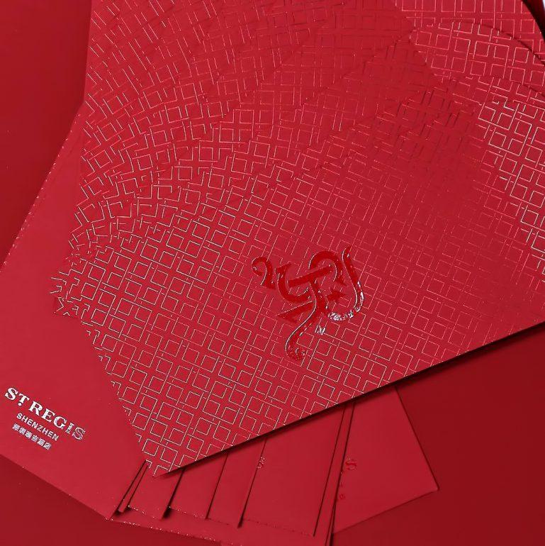 The St. Regis Shenzhen Luxury Hotel - Shenzhen, China - Chinese New Year Red Pockets