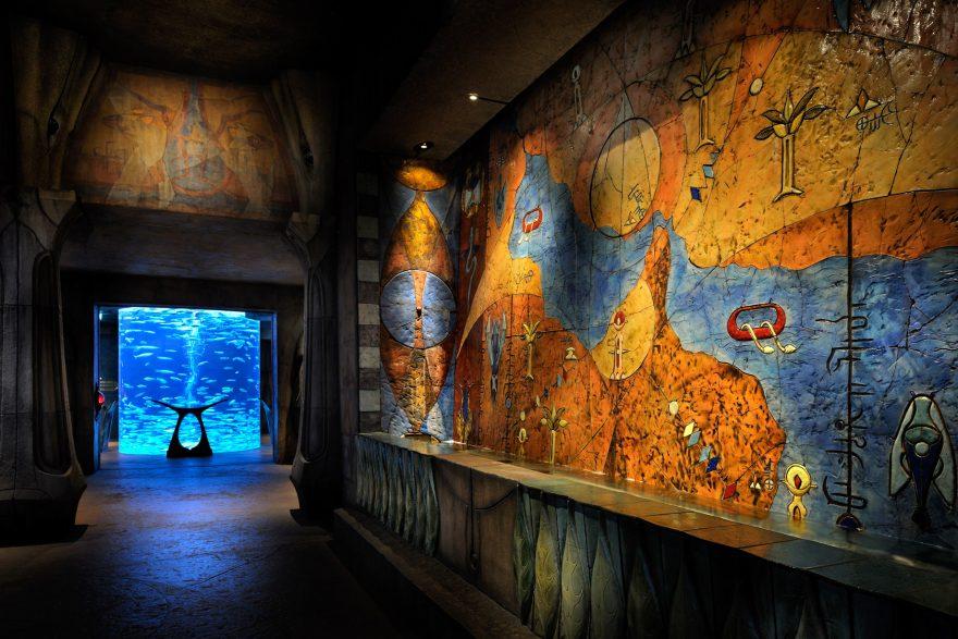 Atlantis The Palm Luxury Resort - Crescent Rd, Dubai, UAE - Lost Chamber Aquarium Entry Portal
