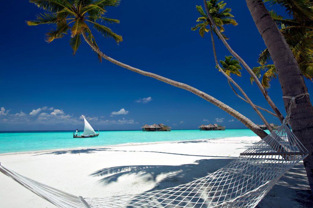 Gili Lankanfushi Luxury Resort - North Male Atoll, Maldives - Palm Tree Beach Hammock