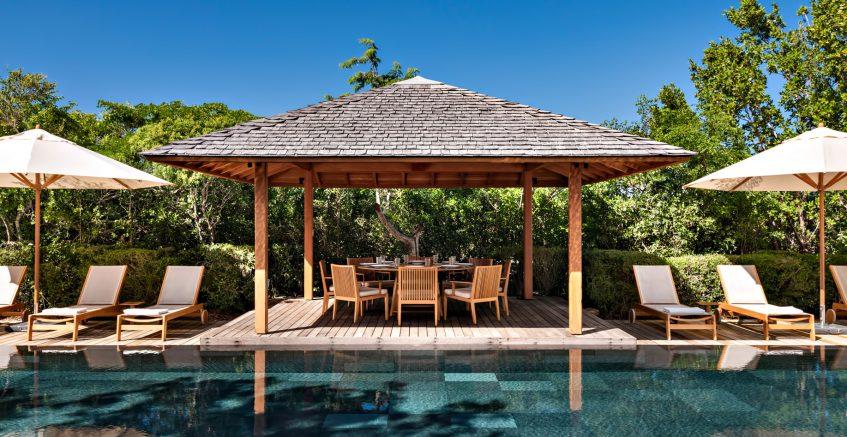 Amanyara Luxury Resort - Providenciales, Turks and Caicos Islands - Villa Poolside Terrace