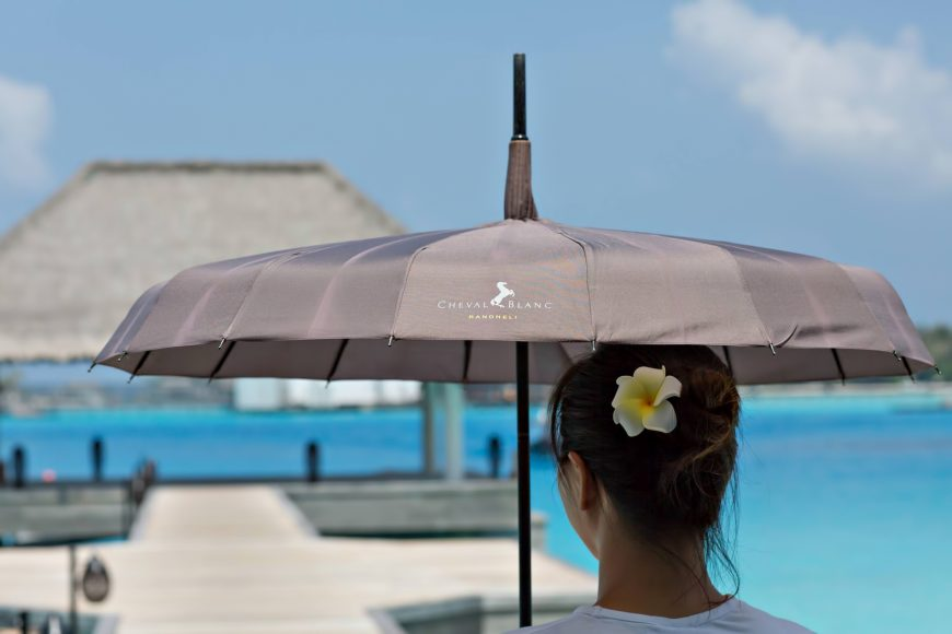Cheval Blanc Randheli Luxury Resort - Noonu Atoll, Maldives - Shade Umbrella
