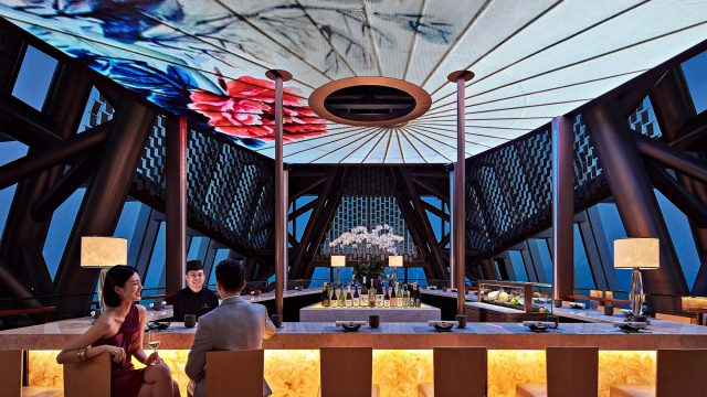 The St. Regis Shenzhen Luxury Hotel - Shenzhen, China - MALT Oyster And Sushi Bar