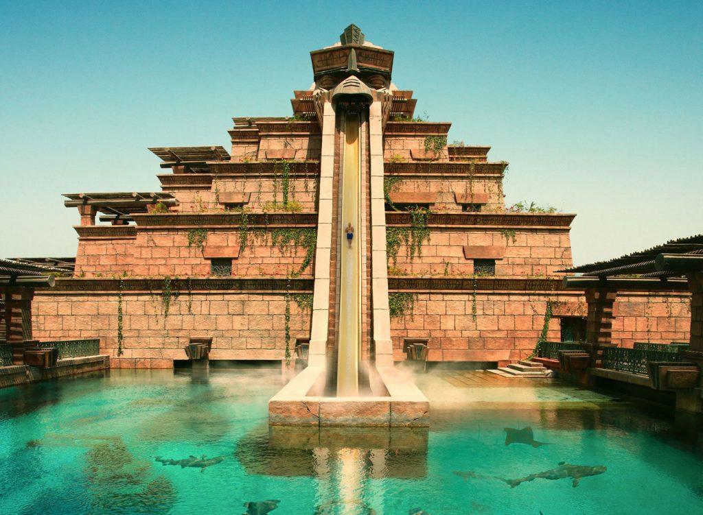 Atlantis The Palm Luxury Resort - Crescent Rd, Dubai, UAE - Tower of Neptune