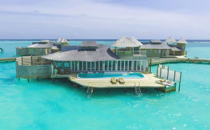 Soneva Jani Luxury Resort - Noonu Atoll, Medhufaru, Maldives - 1 Bedroom Water Retreat Villa Aerial
