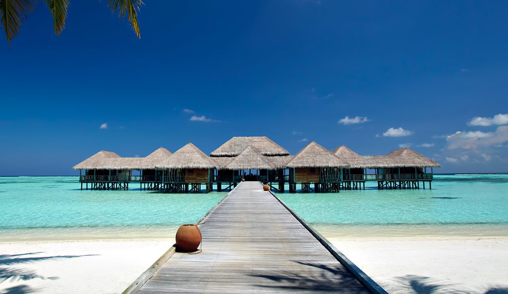 Gili Lankanfushi Luxury Resort - North Male Atoll, Maldives - Meera Spa Boardwalk