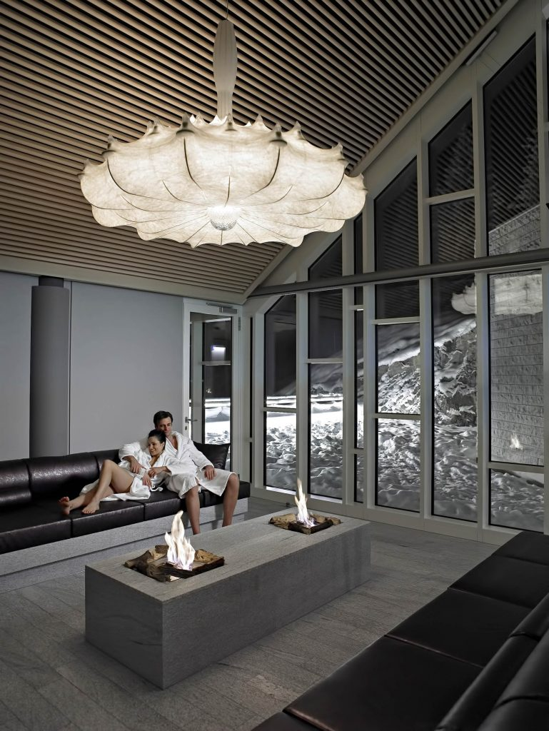 Tschuggen Grand Luxury Hotel - Arosa, Switzerland - Spa