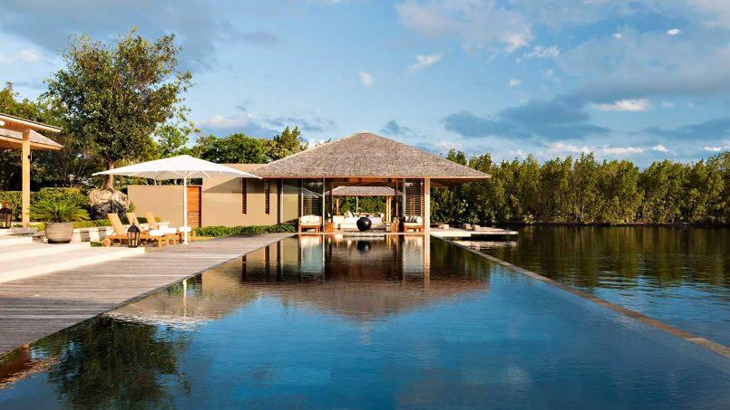 Amanyara Luxury Resort - Providenciales, Turks and Caicos Islands - 6 Bedroom Amanyara Villa Infinity Pool