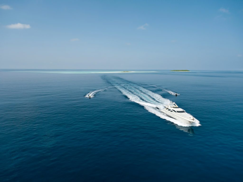 Cheval Blanc Randheli Luxury Resort - Noonu Atoll, Maldives - Resort Yacht and Jet Ski