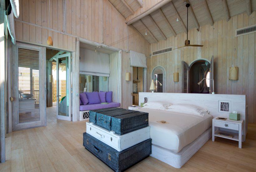 Soneva Jani Luxury Resort - Noonu Atoll, Medhufaru, Maldives - 1 Bedroom Water Retreat Villa Bedroom