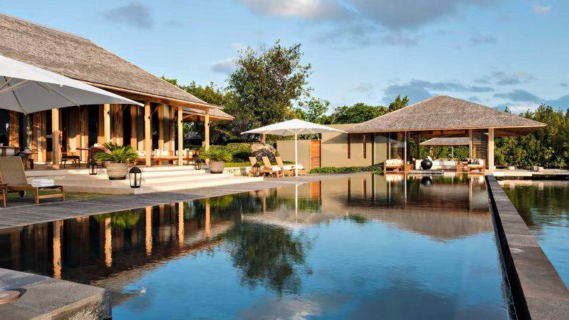 Amanyara Luxury Resort - Providenciales, Turks and Caicos Islands - 6 Bedroom Amanyara Villa Infinity Pool Deck