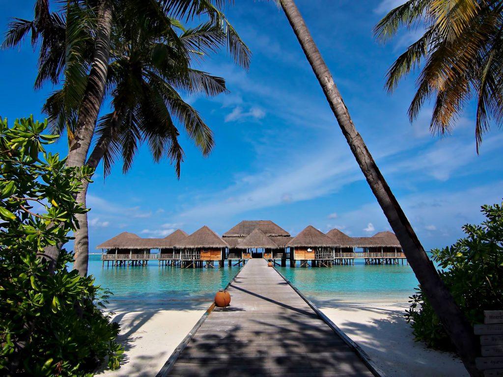 Gili Lankanfushi Luxury Resort - North Male Atoll, Maldives - Meera Spa Beach Boardwalk