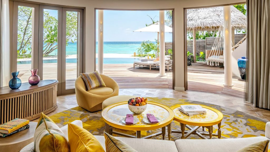 The Nautilus Maldives Luxury Resort - Thiladhoo Island, Maldives - Oceanview Residence Pool View