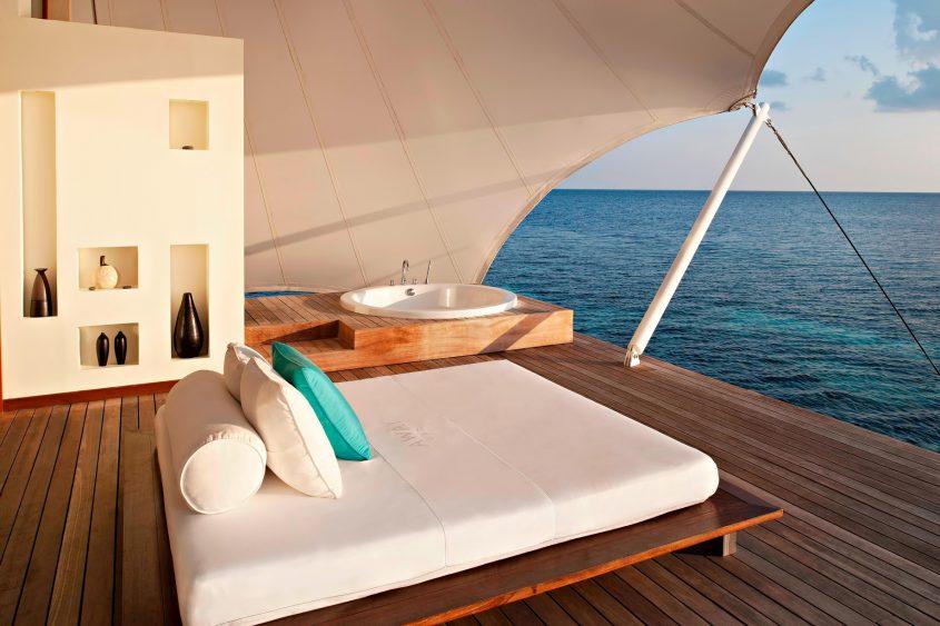 W Maldives Luxury Resort - Fesdu Island, Maldives - AWAY Spa Overwater View