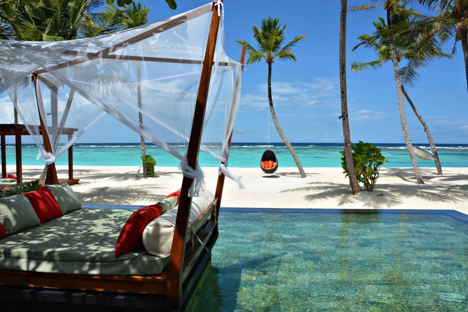 One&Only Reethi Rah Luxury Resort - North Male Atoll, Maldives - Grand Beach Villa Oceanfront Pool View