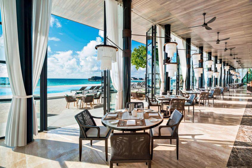 The St. Regis Maldives Vommuli Luxury Resort - Dhaalu Atoll, Maldives - Alba Italian Restaurant