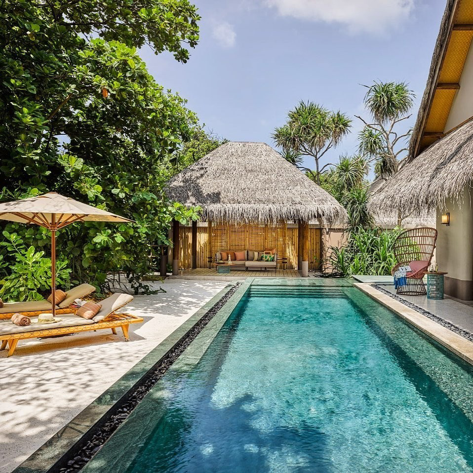 Joali Maldives Luxury Resort - Muravandhoo Island, Maldives - Luxury Villa Pool
