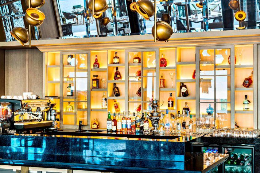 The St. Regis Maldives Vommuli Luxury Resort - Dhaalu Atoll, Maldives - Alba Restaurant Bar
