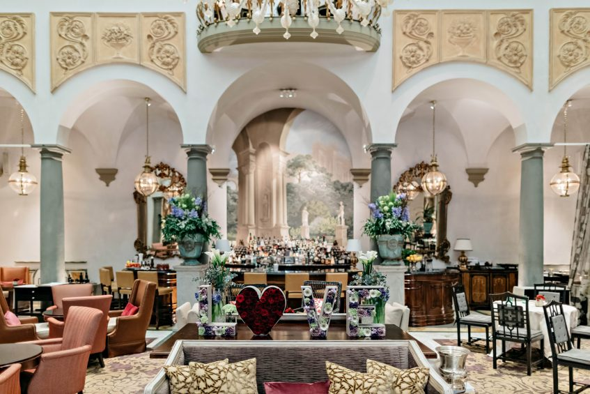 The St. Regis Florence Luxury Hotel - Florence, Italy - Winter Garden By Caino St. Valentine