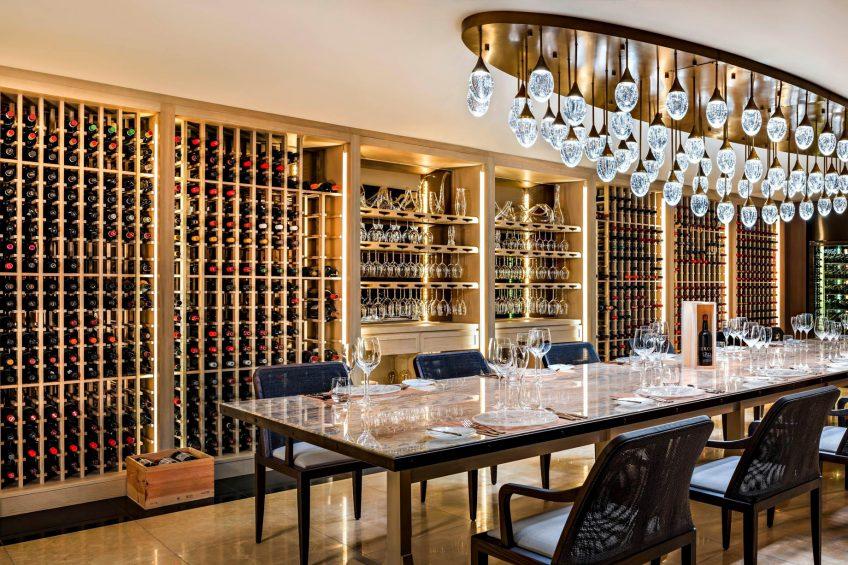 The St. Regis Maldives Vommuli Luxury Resort - Dhaalu Atoll, Maldives - Decanter Wine Cellar