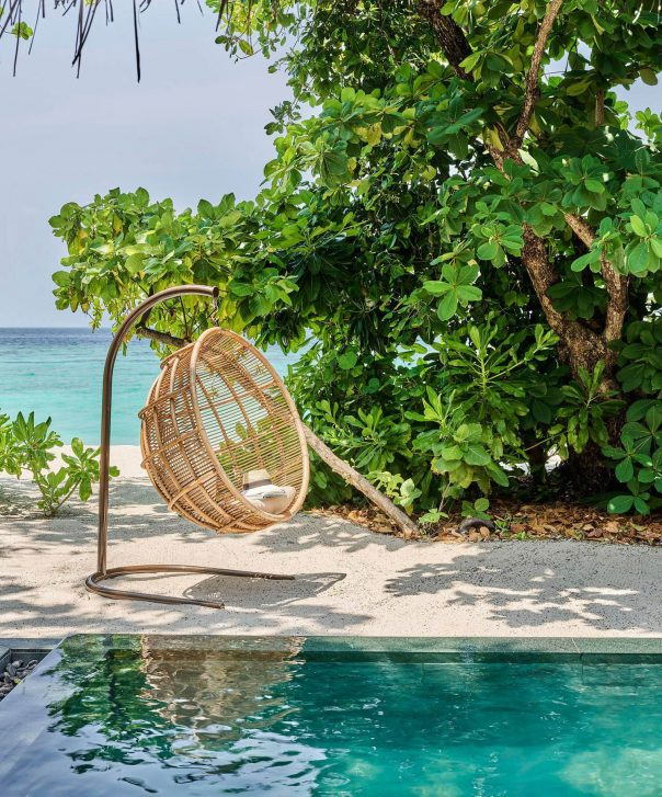 Joali Maldives Luxury Resort - Muravandhoo Island, Maldives - Luxury Villa Beachfront Chair