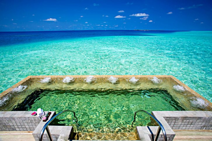Velassaru Maldives Luxury Resort - South Male Atoll, Maldives - Over Water Spa Pool