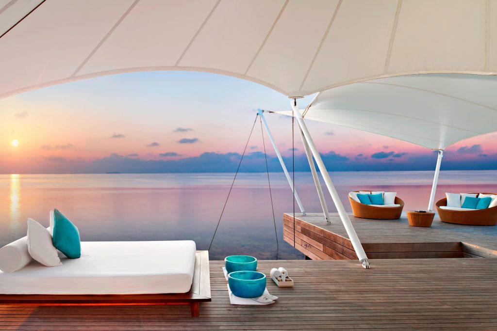 W Maldives Luxury Resort - Fesdu Island, Maldives - AWAY Spa Sunset View