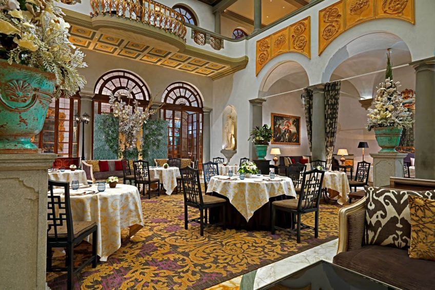 The St. Regis Florence Luxury Hotel - Florence, Italy - Culinary excellence