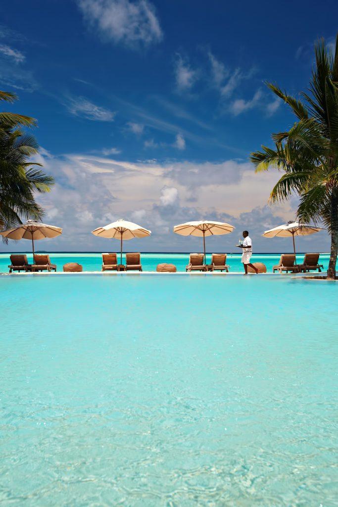 Gili Lankanfushi Luxury Resort - North Male Atoll, Maldives - Resort Oceanfront Pool