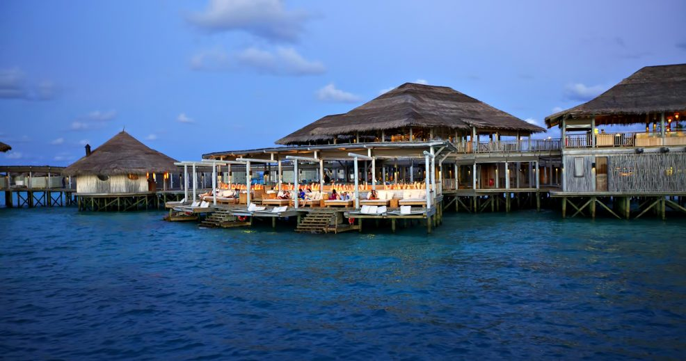 Six Senses Laamu Luxury Resort - Laamu Atoll, Maldives - Overwater Chill Bar Exterior