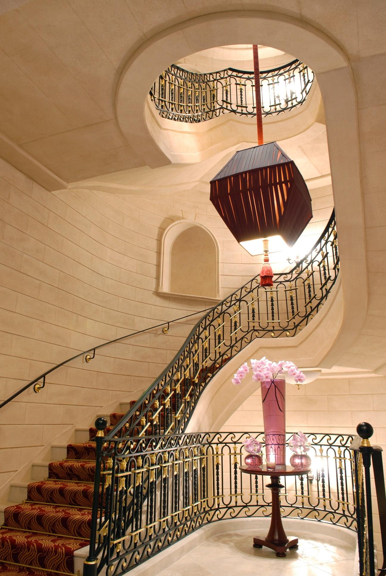 InterContinental Bordeaux Le Grand Hotel - Bordeaux, France - Grand Staircase