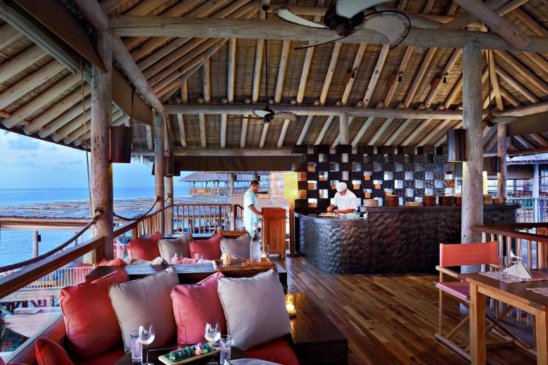 Six Senses Laamu Luxury Resort - Laamu Atoll, Maldives - Zen Restaurant