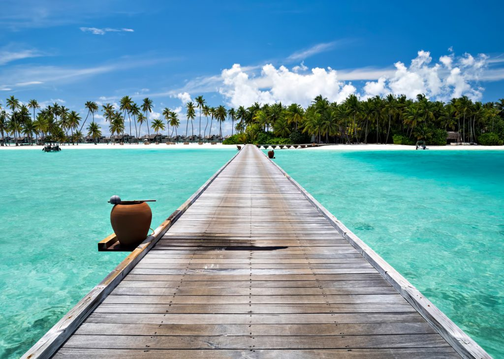 Gili Lankanfushi Luxury Resort - North Male Atoll, Maldives - Arrival Jetty Boardwalk