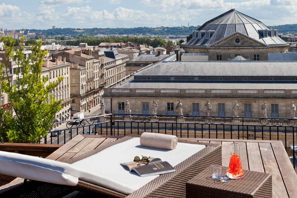 InterContinental Bordeaux Le Grand Hotel - Bordeaux, France - Rooftop Relaxation