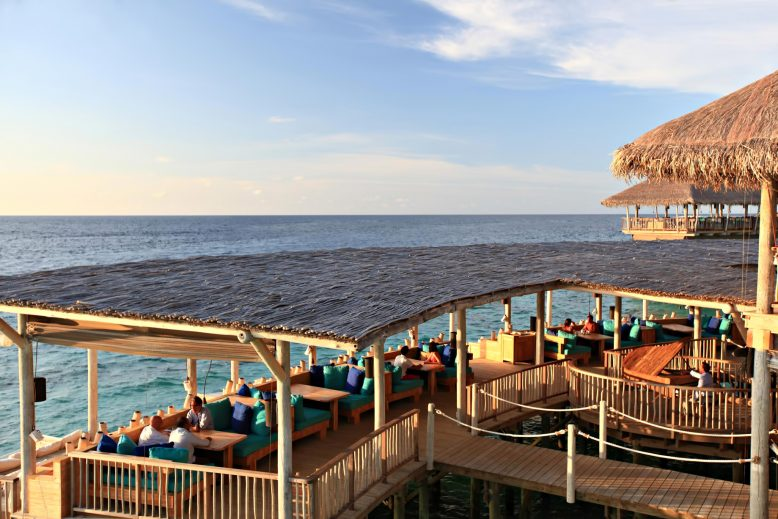 Six Senses Laamu Luxury Resort - Laamu Atoll, Maldives - Overwater Chill Bar