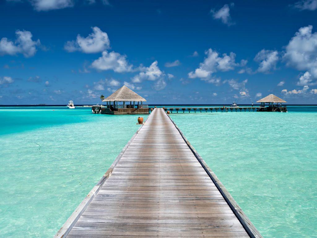Gili Lankanfushi Luxury Resort - North Male Atoll, Maldives - Arrival Jetty