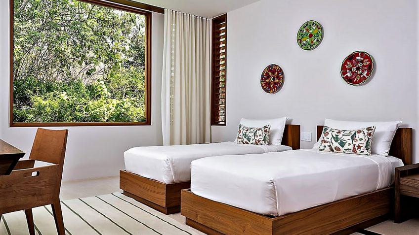 Amanyara Luxury Resort - Providenciales, Turks and Caicos Islands - 6 Bedroom Amanyara Villa Double Bed Room