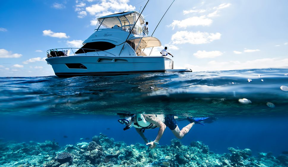 Gili Lankanfushi Luxury Resort - North Male Atoll, Maldives - Boat Snorkeling