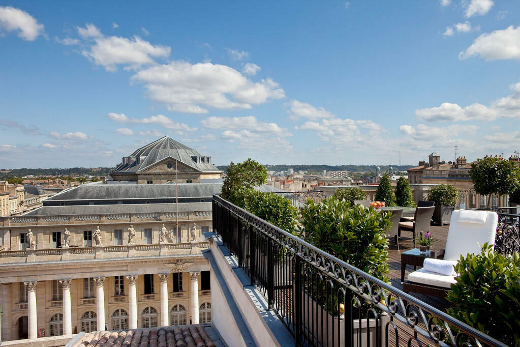 InterContinental Bordeaux Le Grand Hotel - Bordeaux, France - Rooftop View