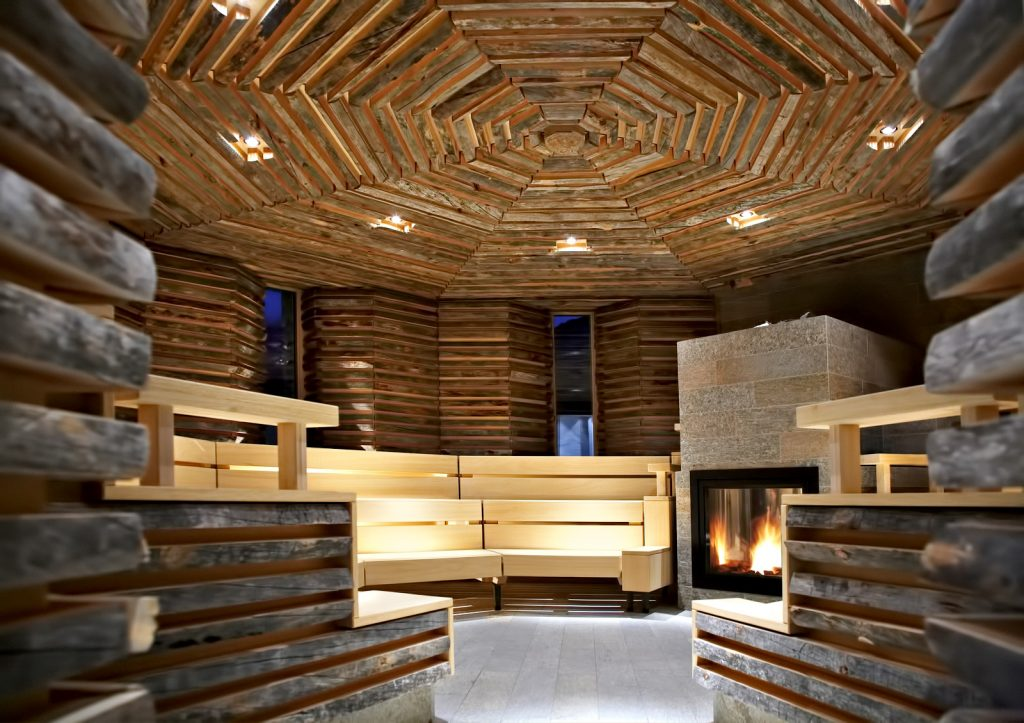 Tschuggen Grand Luxury Hotel - Arosa, Switzerland - Sauna
