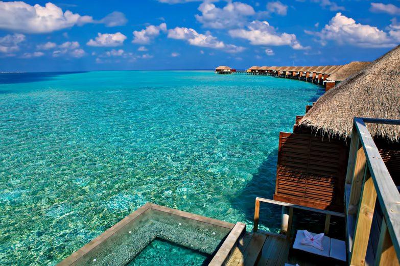 Velassaru Maldives Luxury Resort - South Male Atoll, Maldives - Over Water Suite Pool